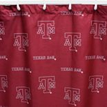 College Covers Texas A&M Aggies Printed Shower Curtain Cover
