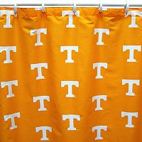 College Covers Tennessee Volunteers Printed Shower Curtain Cover