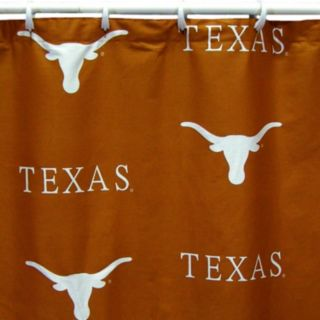 College Covers Texas Longhorns Printed Shower Curtain Cover