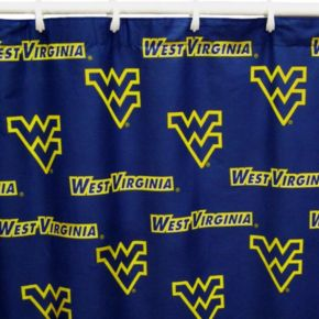 College Covers West Virginia Mountaineers Printed Shower Curtain Cover