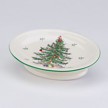 Spode Christmas Tree Soap Dish