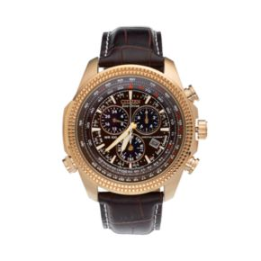 Citizen Men's Eco-Drive Perpetual Calendar Leather Chronograph Watch - BL5403-03X