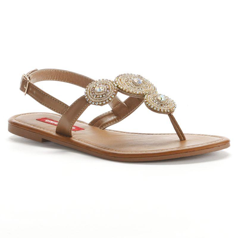 Beautiful Journee Collection Women39s Gladiator Flat Sandals
