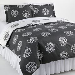 Elite Home Products Milena 2-pc. Reversible Duvet Cover Set - Twin