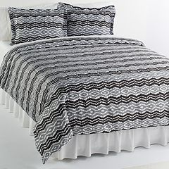 Elite Home Products Strada 3-pc. Duvet Cover Set - King