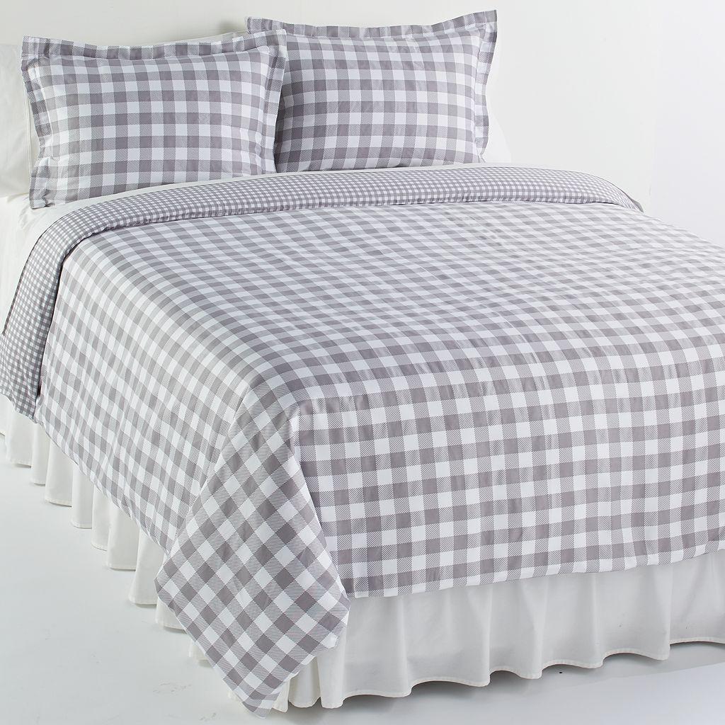 Elite Home Products Harvard 3-pc. Duvet Cover Set - Full/Queen