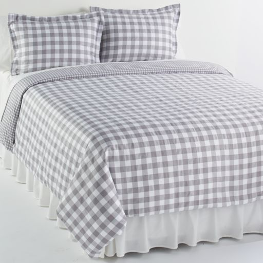 Elite Home Products Harvard 3-pc. Duvet Cover Set - Full/Queen