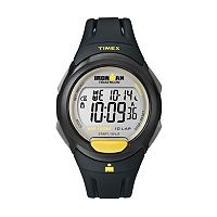 Timex Watch - Men's Ironman 10-Lap Resin Digital Chronograph - T5K779KZ