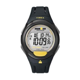 Timex Watch - Men's Ironman 10-Lap Resin Digital Chronograph - T5K779KZ