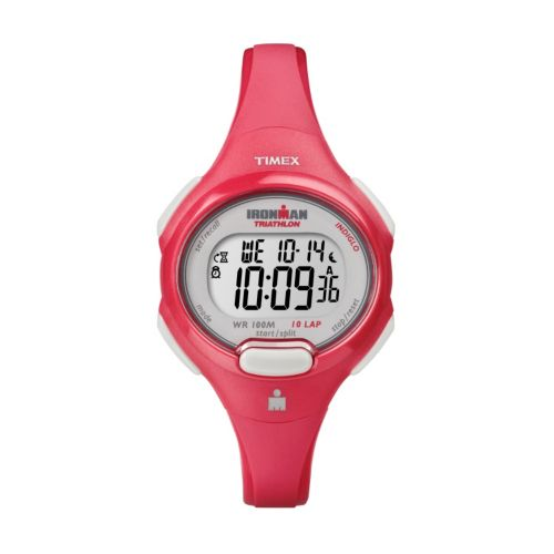 Timex Watch - Women's Ironman 10-Lap Resin Digital Chronograph