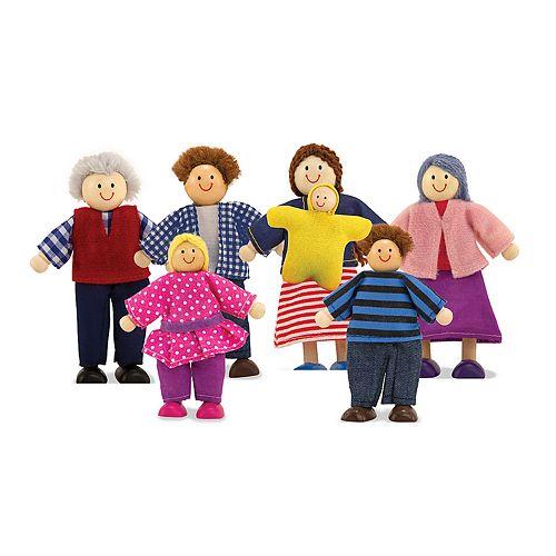 Melissa & Doug Doll Family Set