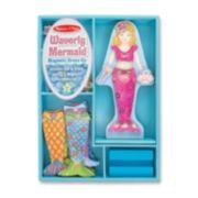 Melissa & Doug Waverly Mermaid Magnetic Dress-Up Doll