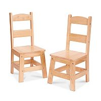 Melissa & Doug 2 pkWooden Chair Set