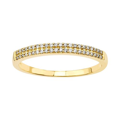 10k Gold 1/9-ct. T.W. Diamond Ring