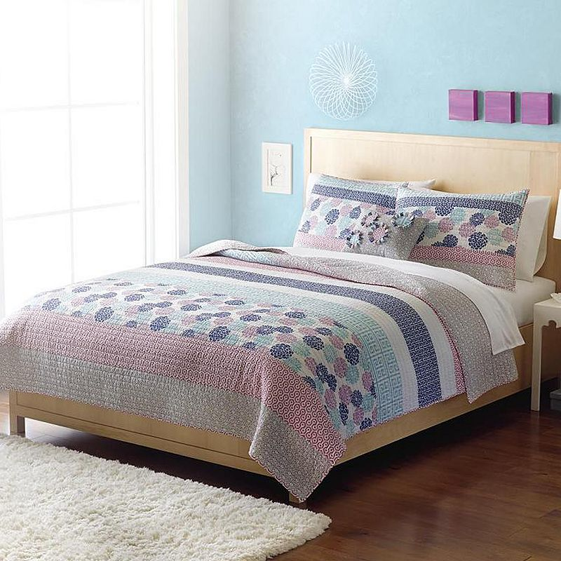 Home Classics Statements Kennedy Reversible Quilt Twin