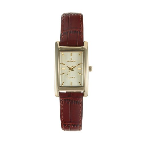 Peugeot Women's Leather Watch - 3007BR