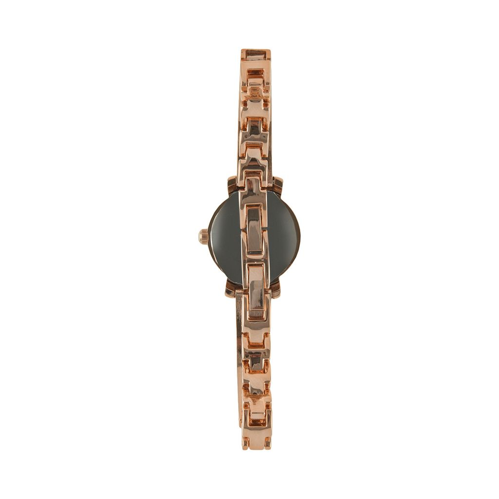 Peugeot Women's Crystal Half Bangle Watch