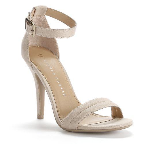 LC Lauren Conrad Strappy Dress High Heels - Women