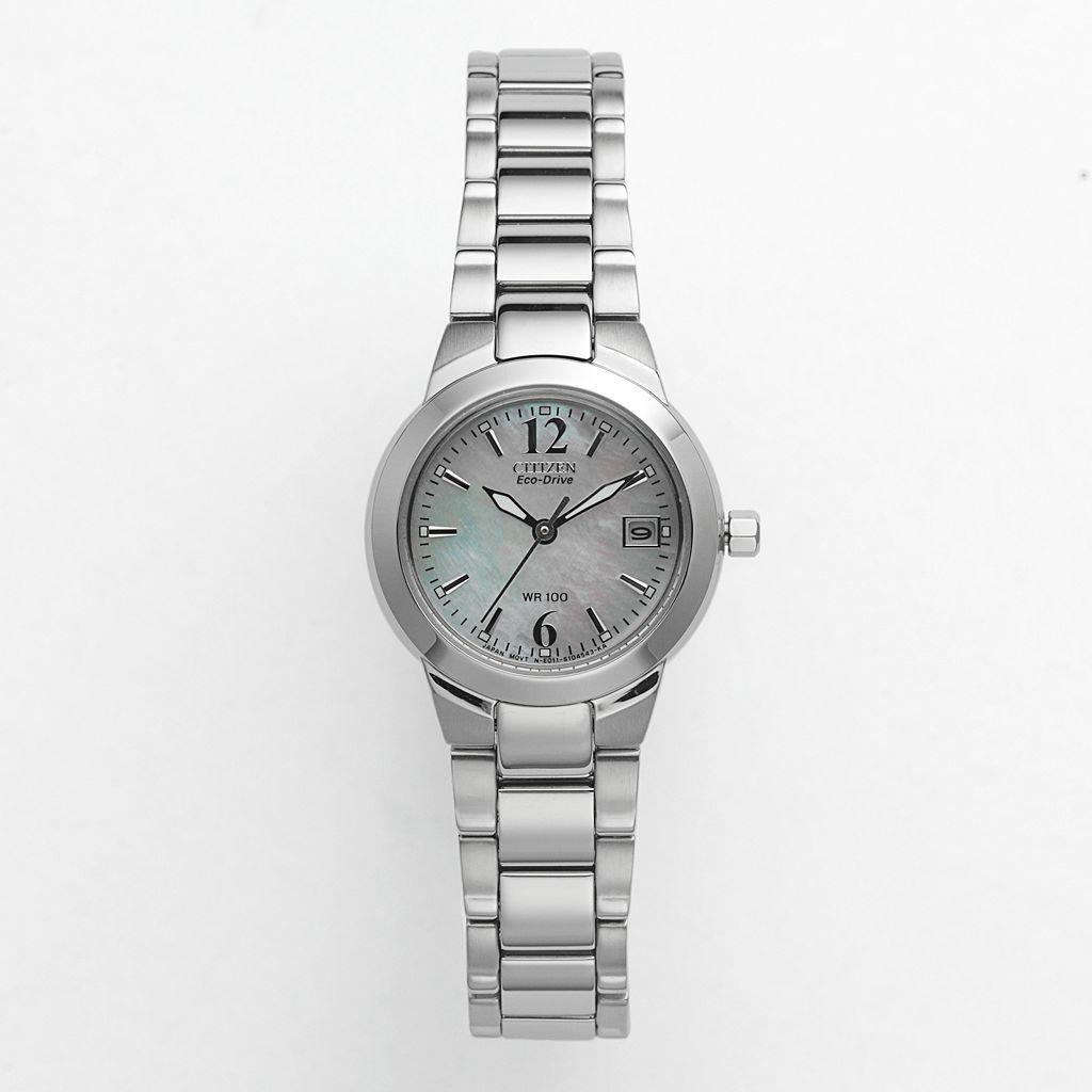Citizen Watch - Women's Eco-Drive Silhouette Stainless Steel - EW1670-59D