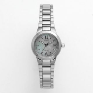 Citizen Watch - Women's Eco-Drive Silhouette Stainless Steel - EW1670-59D