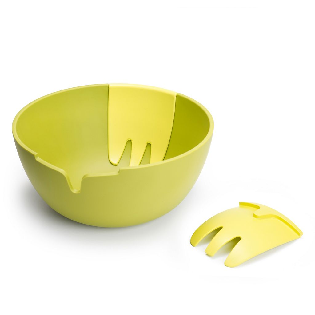 Joseph Joseph Hands-On Melamine Salad Bowl & Server Set