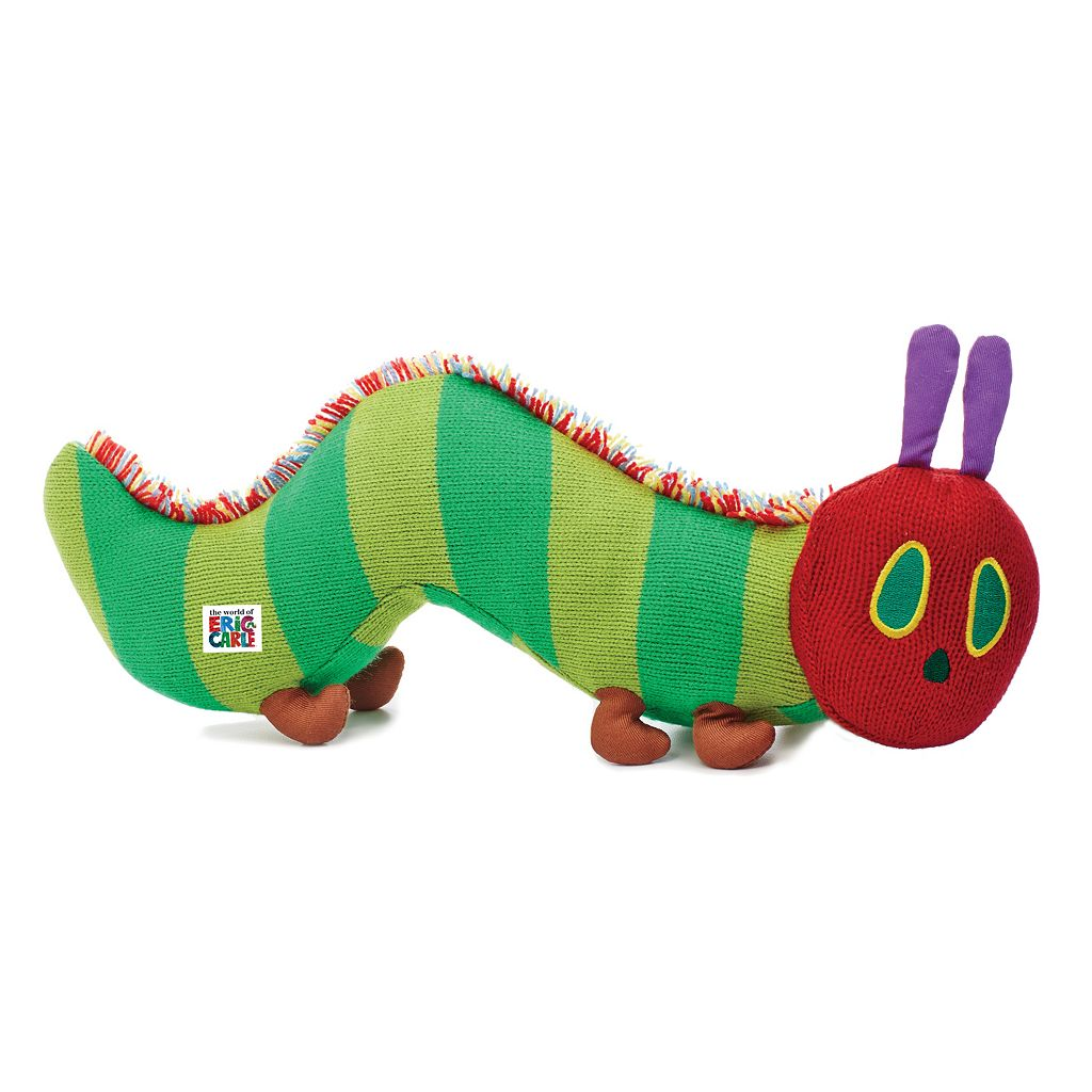 The World of Eric Carle Large Knit Caterpillar by Kids Preferred