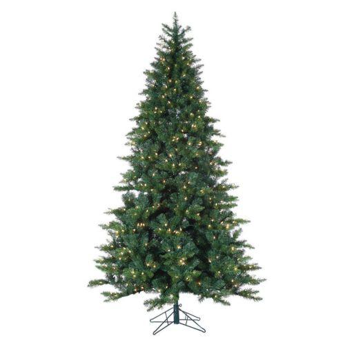 Sterling 7 1/2-ft. Longwood Pine Pre-Lit Artificial Christmas Tree – Indoor