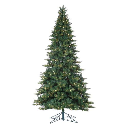 Sterling 9-ft. Pre-Lit Longwood Pine Artificial Christmas Tree - Indoor