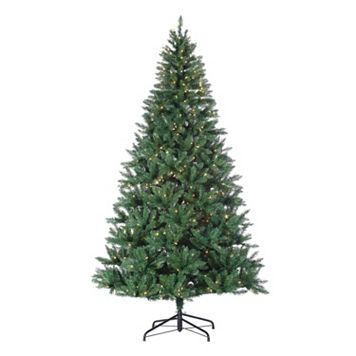 Sterling 8-ft. Pre-Lit Hudson Pine Artificial Christmas Tree - Indoor