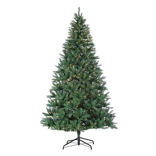 huge discount d5f31 05f65 Sterling 8-ft. Pre-Lit Hudson Pine Artificial Christmas Tree ...
