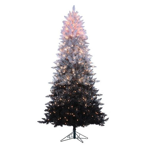 Sterling 7 1/2-ft. Pre-Lit Ombre Spruce Artificial Christmas Tree - Indoor