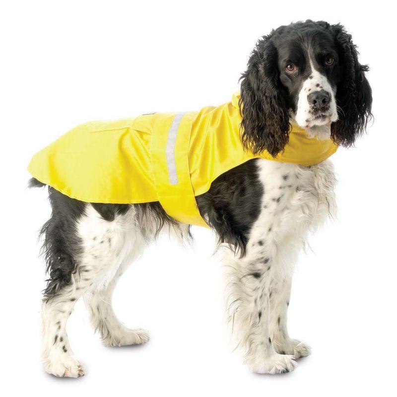 PetRageous Designs Seattle Dog Slicker - Medium (Yellow)