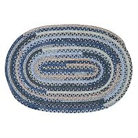 Colonial Mills Perfect Print Braided Reversible Rug - 2' x 3' Oval
