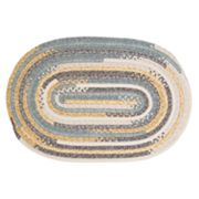 Colonial Mills Perfect Print Braided Reversible Rug - 5' x 7' Oval