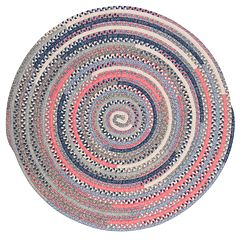 Colonial Mills Perfect Print Braided Reversible Rug - 6' Round
