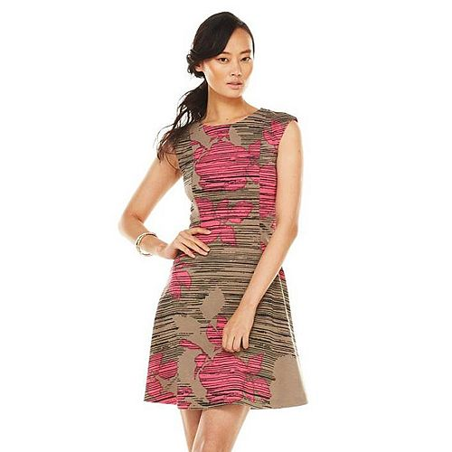 Apt. 9® Drop-Waist Ponte Dress - Women's