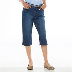Gloria Vanderbilt Pippa Denim Skimmer Pants - Women's