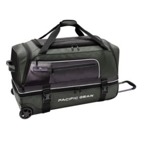 Pacific Gear 30-Inch Drop-Bottom Rolling Duffel Bag