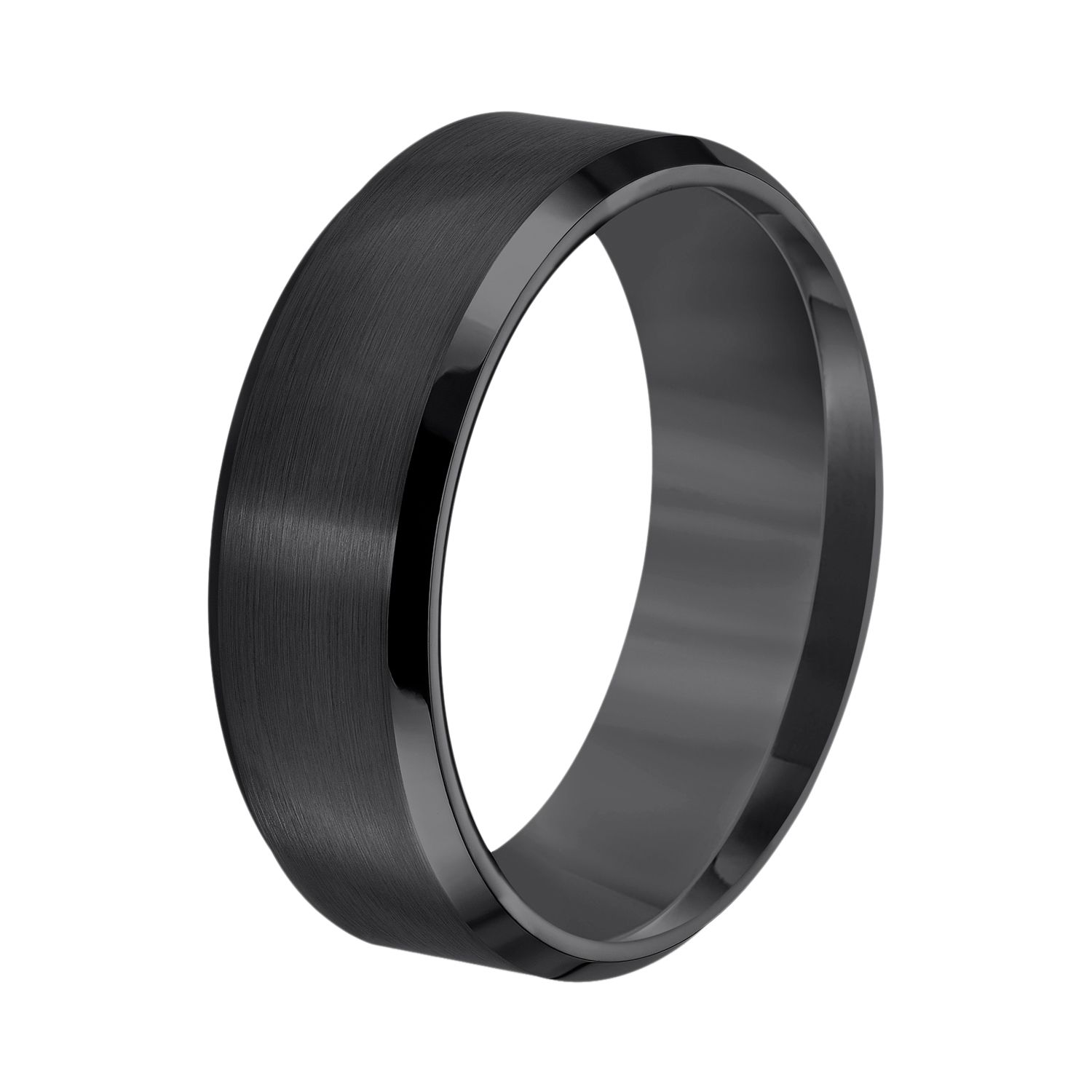 Mens Fine Wedding Bands Rings Jewelry