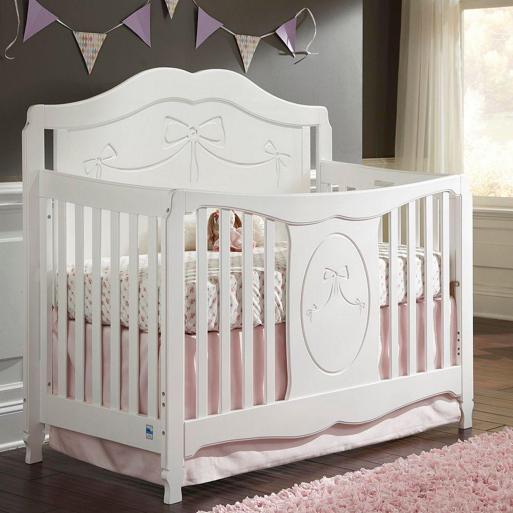 Storkcraft Princess 4-in-1 Convertible Crib
