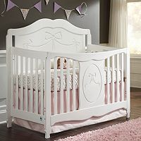 Stork Craft Princess 4-in-1 Convertible Crib
