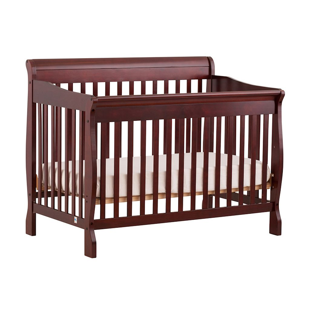 Stork Craft Modena Fixed Side 4-in-1 Convertible Crib