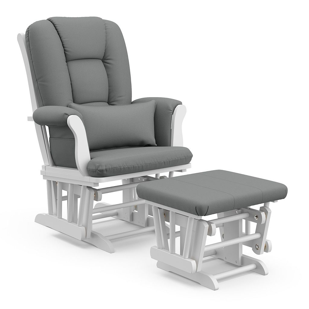 Stork Craft Tuscany Glider Chair & Ottoman