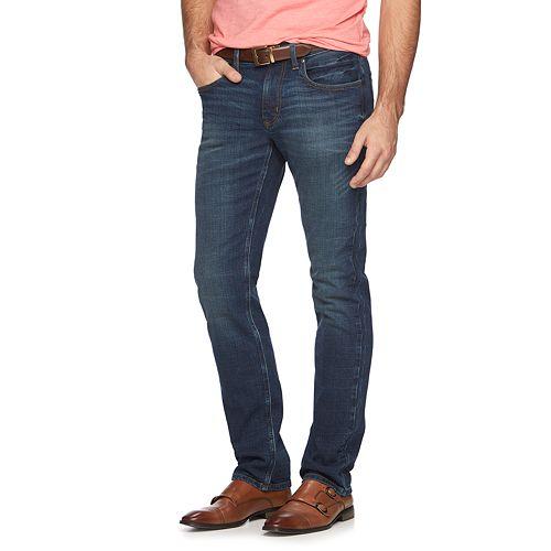 40cc0418 Men's Marc Anthony Slim-Straight Indigo Jeans