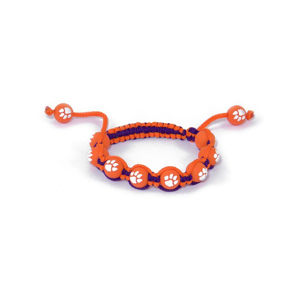 Clemson Tigers Bead Bracelet