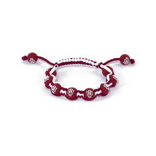 Indiana Hoosiers Bead Bracelet