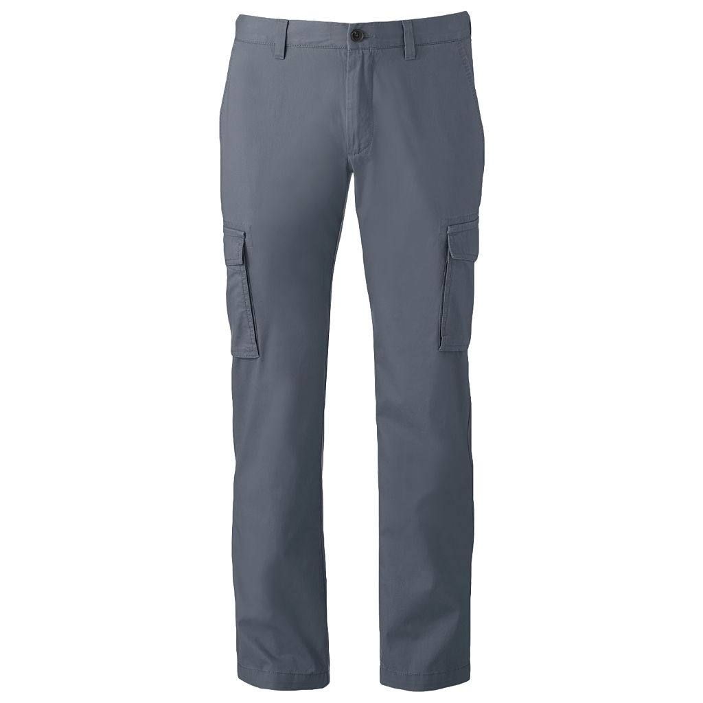 Men's Marc Anthony Slim-Fit Twill Cargo Pants