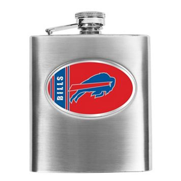 Buffalo Bills Stainless Steel Hip Flask