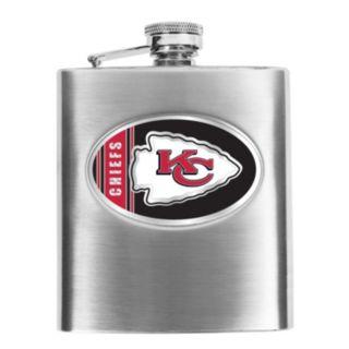 Kansas City Chiefs 6-Ounce Stainless Steel Hip Flask