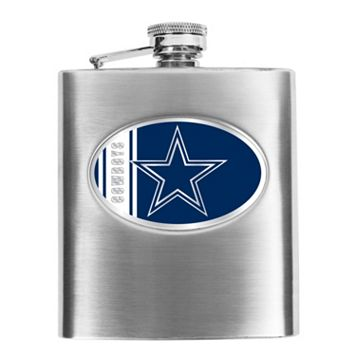 Dallas Cowboys 6-Ounce Stainless Steel Hip Flask
